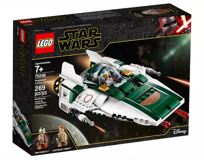 Lego 75248 Star Wars: The Rise of Skywalker Resistance A-Wing Starfighter