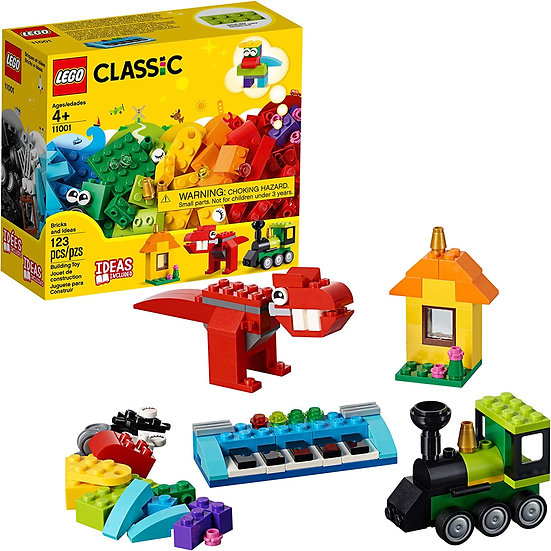 LEGO Classic Bricks And Ideas 11001 Building Kit 123 Pcs NEW