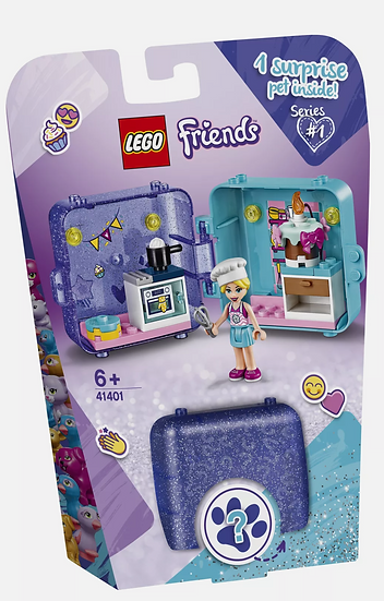 LEGO Friends Stephanie's Play Cube w/ Mystery Pet - 41401 Series 1