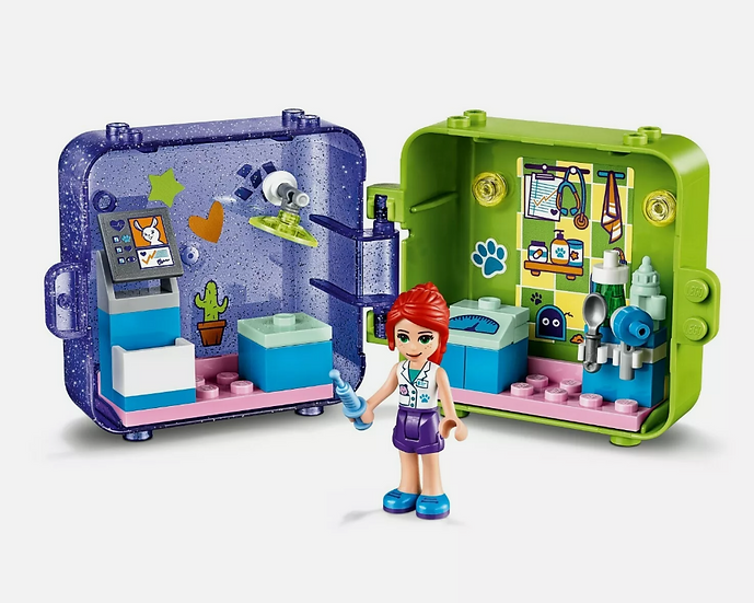 LEGO Friends Mia's Play Cube 41403 40 Pieces Series 1 New In Box