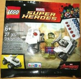 LEGO Marvel Avengers Age of Ultron Hulk Polybag Toys R Us Exclusive