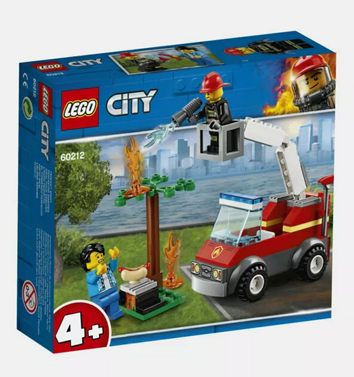 LEGO City 4+ Barbecue Burn Out 60212 Building Kit, 2019 (64 Pieces)