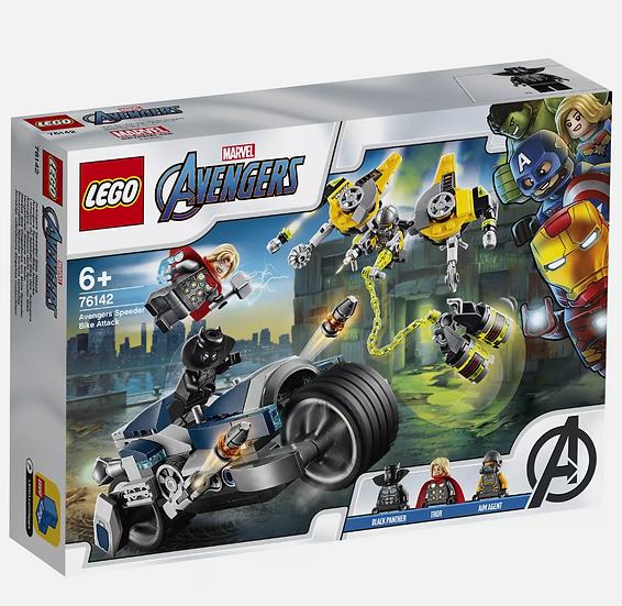 Lego Marvel Super Heroes Avengers Speeder Bike Attack (76142)