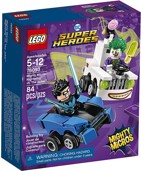LEGO 76093 DC Heroes Mighty Micros Nightwing vs. The Joker