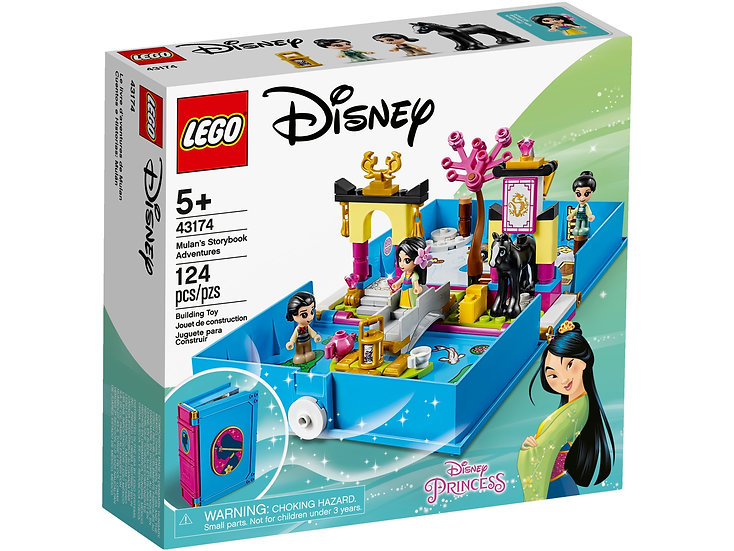 LEGO Mulan's Storybook Adventures Disney Princess (43174)