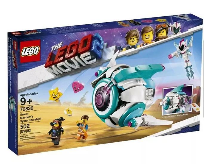 Lego Movie 2 Sweet Mayhem's Systar Starship! 70830