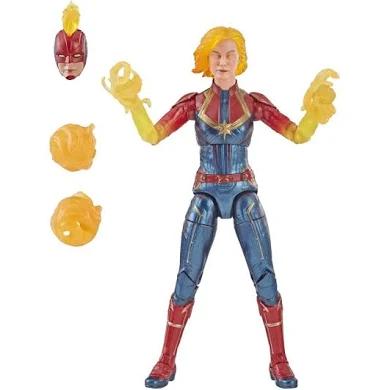 Marvel Legends Series: Captain Marvel Movie (Binary Form) Figure