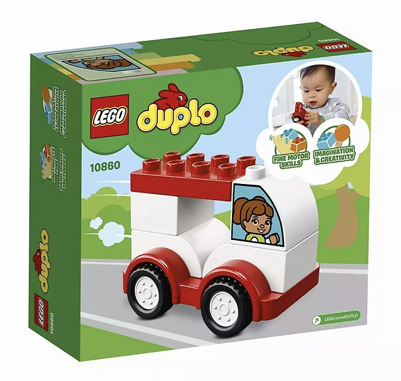 LEGO® DUPLO® My First - My First Race Car 10860 6 Pcs