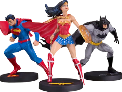 Jim Lee Collector 3-Pack Statue by DC Collectibles