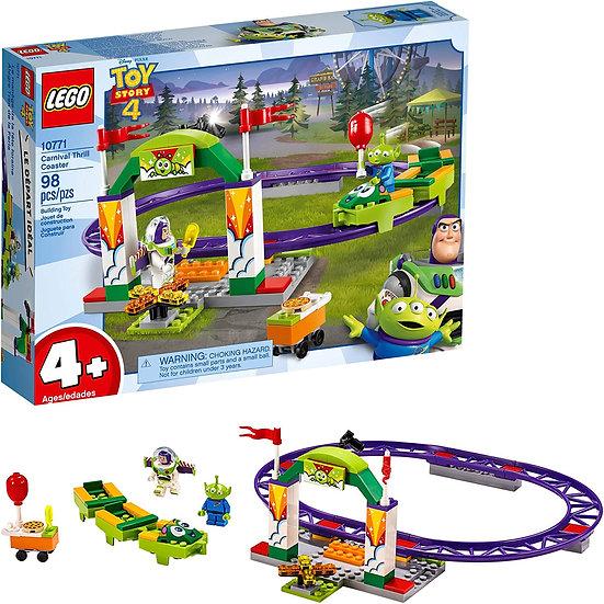 LEGO 10771 Disney Pixar's Toy Story 4 Carnival Thrill Coaster