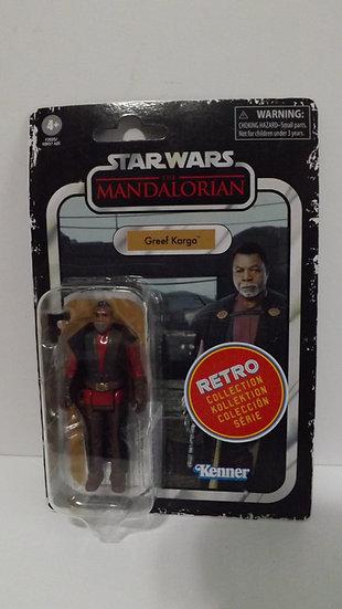 "Hasbro Star Wars The Mandalorian Greef Karga Figure 3.75"" Retro Collection"