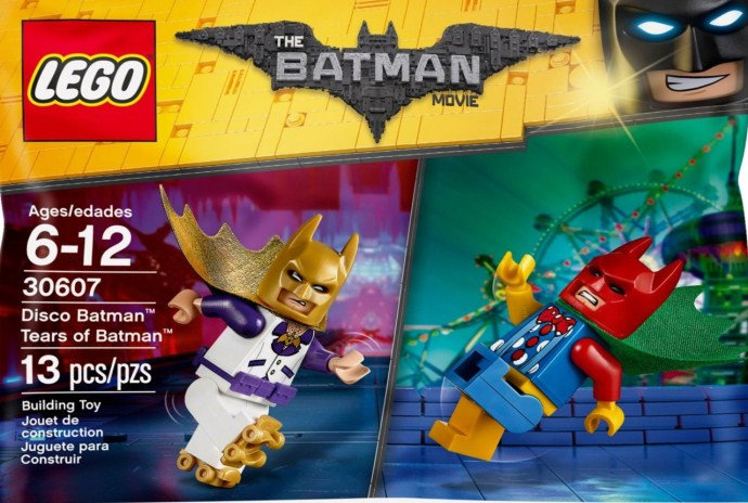 LEGO The Batman Movie Disco Batman Tears Of Batman 30607 Polybag