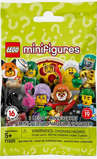 New Lego Minifigures Series 19 Gamer Champ