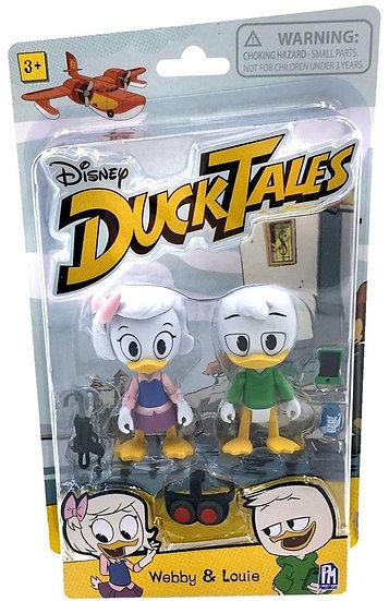Disney DuckTales Webby & Louie Exclusive Action Figure 2-Pack