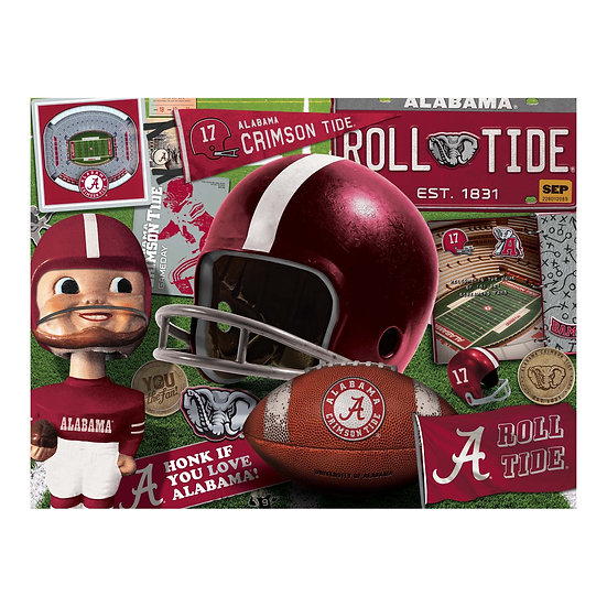 Alabama Crimson Tide 500 Piece Jigsaw Puzzle