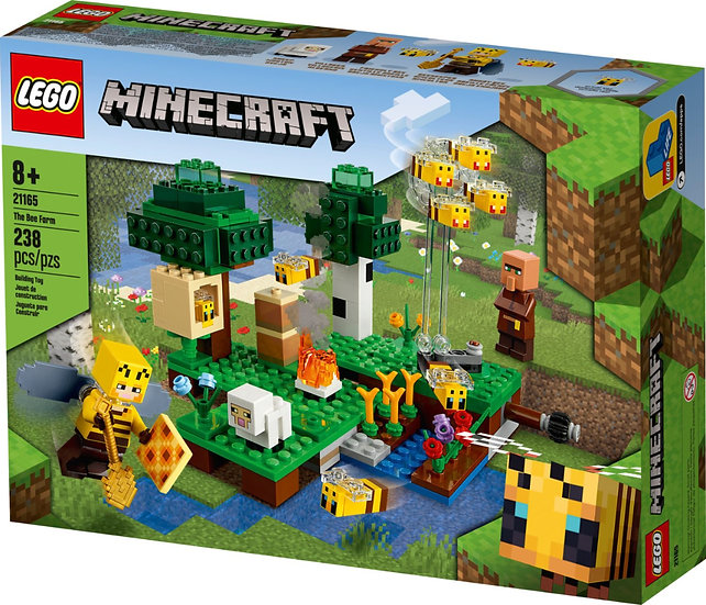 LEGO Minecraft 21165 The Bee Farm Minecraft Building Action Set
