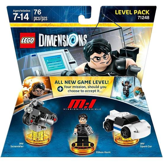 LEGO DIMENSIONS Level Pack 71248 Mission Impossible Ethan Hunt IMF Scrambler