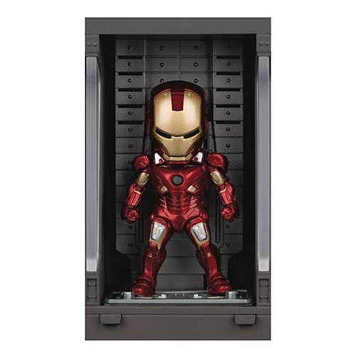 Iron Man 3 MEA-015 Iron Man MK VII Action Figure with Hall of Armor Display - Pr