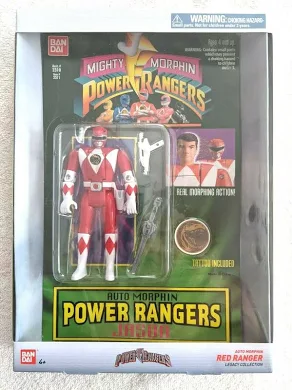 Power Rangers Auto Morphin Jason - Legacy Collection