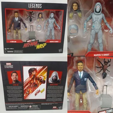 Marvel Legends 80th Anniversary X-Con Luis & Marvel's Ghost Action Figure 2-Pack