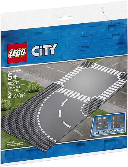 LEGO City - Curve and Crossroad 60237