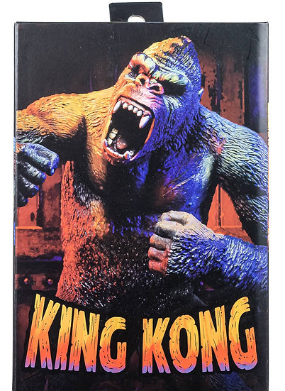 """NECA King Kong Illustrated Version 7"""" Action Figure"""