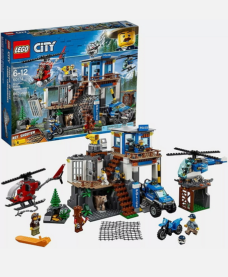 LEGO City 60174 Mountain Police Headquarters New in sealed box