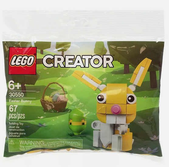LEGO Easter Egg (40371) & Easter Bunny (30550) New