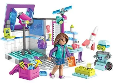 Mega Construx American Girl Luciana's Space Lab Building Set