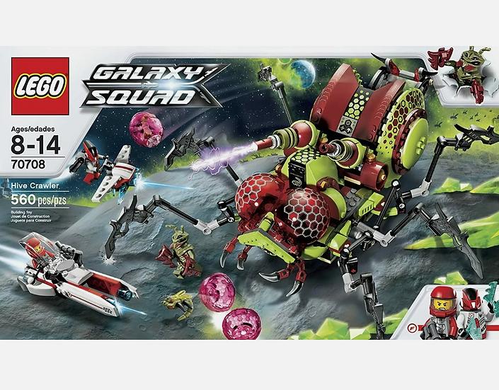 NEW Sealed LEGO 70708 Galaxy Squad Hive Crawler 560 pcs Retired