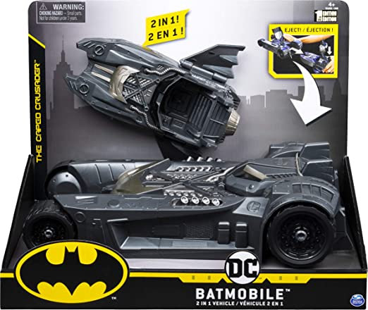 Spin Master DC Comics BATMOBILE & BATBOAT 2-in-1