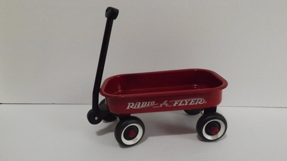 Mini Doll Radio Flyer Red Wagon
