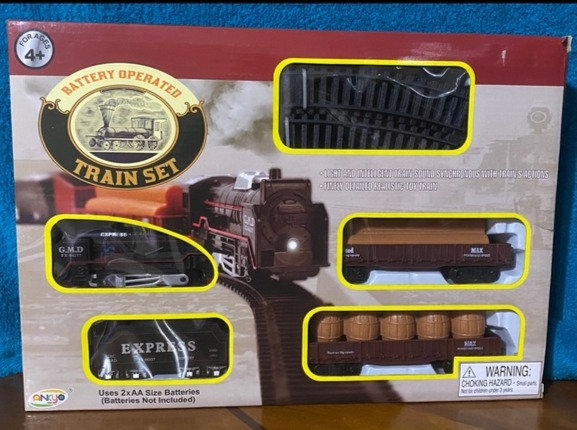 ANKYO Battery Operated Finely Detailed Realistic Toy Train Set With Light