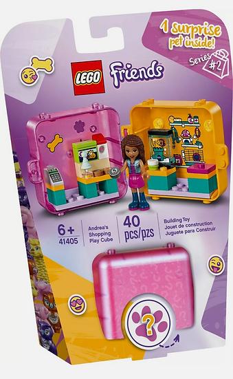 LEGO Friends Andrea's Shopping Play Cube 41405 40 Pcs