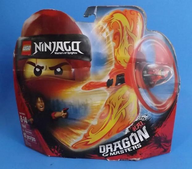 Lego 70647 Ninjago Kai Dragon Masters Of Spinjitzu 92pc Air Spinner