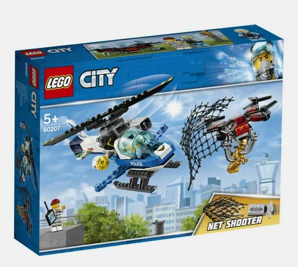 LEGO City Sky Police Drone Chase Set (60207)