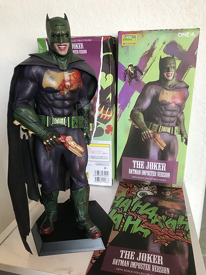 Crazy Toys The Joker Batman Imposter 1/6 Scale Collectible Statue