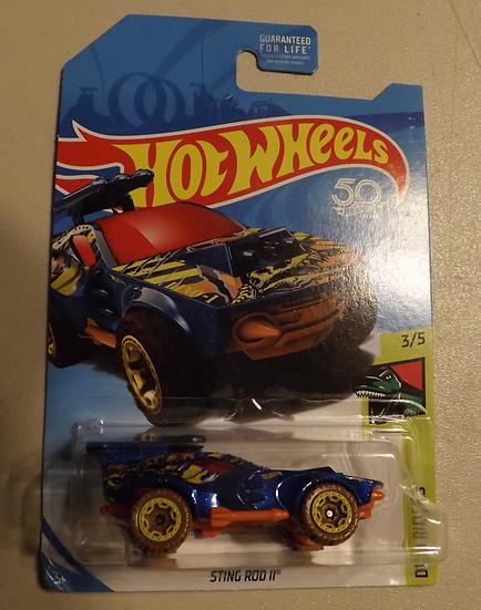 Hot Wheels Regular Treasure Hunt Sting Rod II