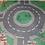 Thumbnail: Lego Felt Playmat Emergency & Fire 27x31 inches