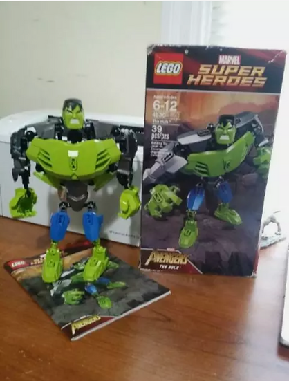 Lego Marvel Super Heroes 4530 The Hulk