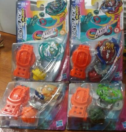 BEYBLADE BURST RISE STARTER PACK Lot of 4