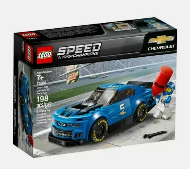 NEW Lego Speed Champions Chevrolet Camaro ZL1 Race Car, 198 Pieces (75891)