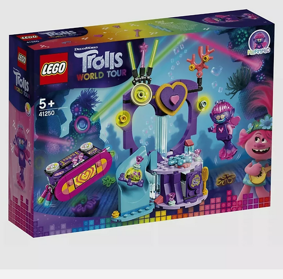 Lego Trolls World Tour Techno Reef Dance Party (41250)