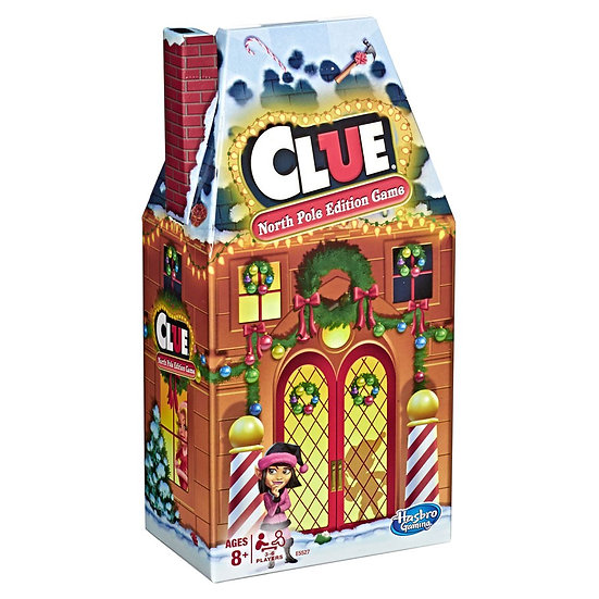 Hasbro Gaming 2 Pack... Clue North Pole Edition & Candy Land Winter Adventures