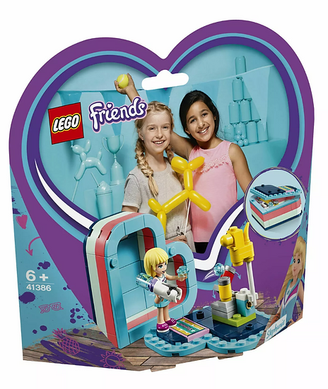 LEGO Friends: Stephanie's Summer Heart Box (41386)