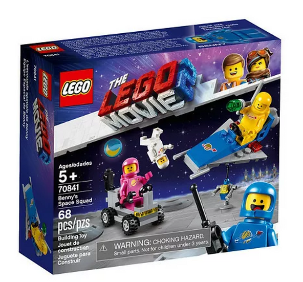Lego Set 70841 Lego Movie 2 Benny's Space Squad