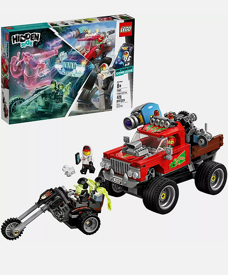Lego Hidden Side 70421 Ghost El Fuego's Stunt Truck With augmented reality New