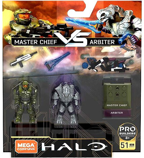 Halo Mega Construx Set Master Chief vs. Arbiter