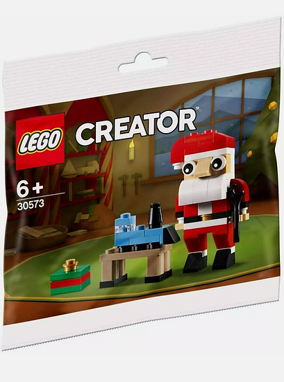Lego 30573 Creator Santa Clause 67 PCs Christmas Sealed & New Rare