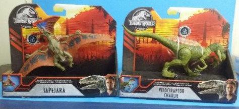 Jurassic World Savage Strike Charlie and Tapejara lot of 2